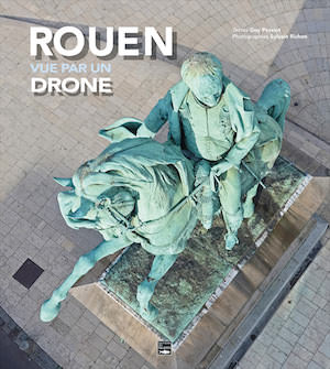 Rouen vue par un drone