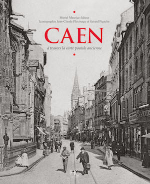 Caen travers carte postale ancienne